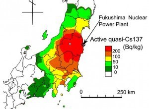 The Fukushima Nuclear Disaster Is A Serious Crime Interview With - Japan radiation map 2016