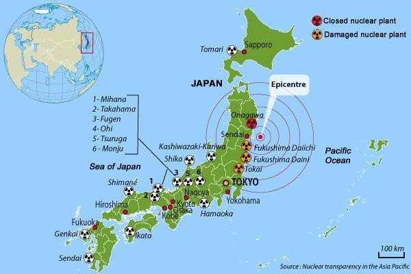 The Fukushima Nuclear Disaster Is A Serious Crime Global - Fukushima radiation 2016 us map