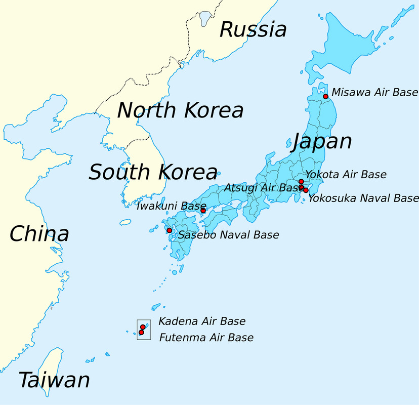 Why Okinawa Matters Japan The United States And The Colonial - Japan us map