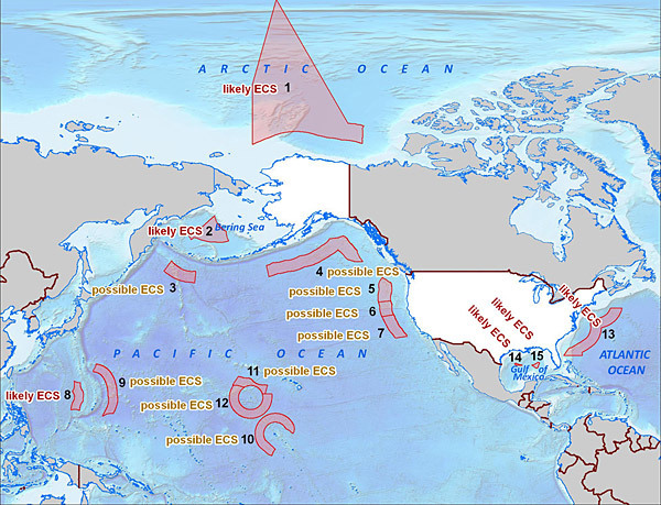 US Accession To The Law Of The Sea Convention A Challenge For - Us eez map