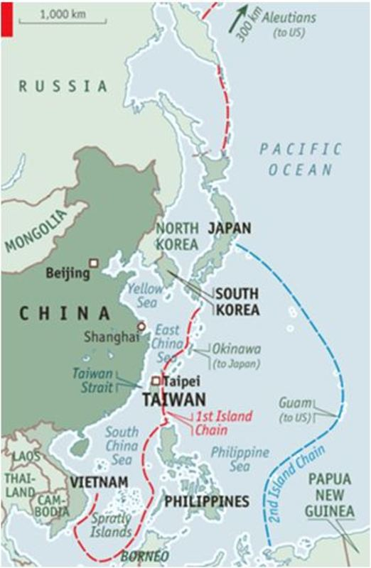 Troubled Seas Japans Pacific and East China Sea Domains and