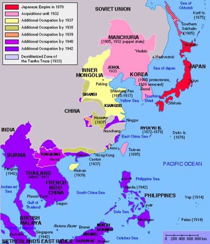 Japan, the United States, and the Road to World War II in the ...