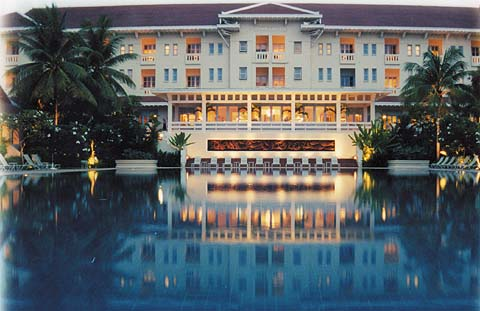 A hotel in Angkor