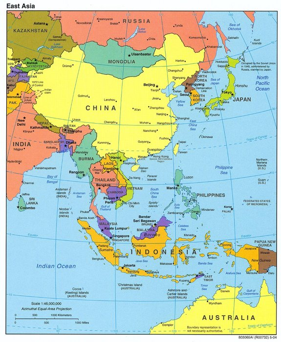Vietnam And China In An Era Of Economic Uncertainty The Asia - Japan vietnam map