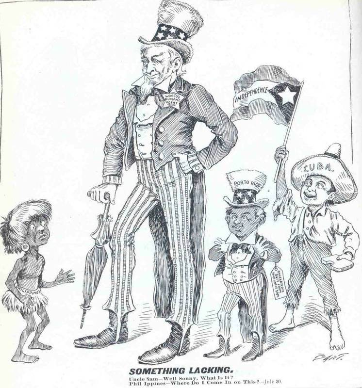 political cartoon spanish american war This collection uses primary sources to explore the spanish-american war go to top navigation go to main navigation american imperialism: the spanish-american war an 1898 political cartoon titled our export business with spain.