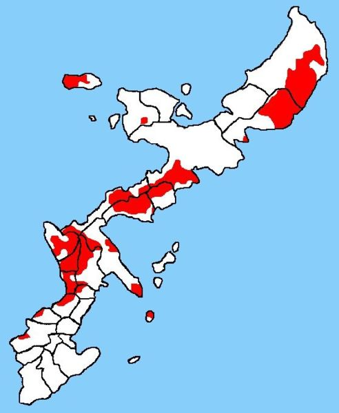 US Bases Japan And The Reality Of Okinawa As A Military Colony - Okinawa us military base map