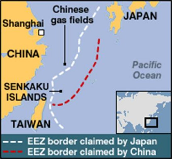 Territorial Conflicts in the East China Sea  From Missed