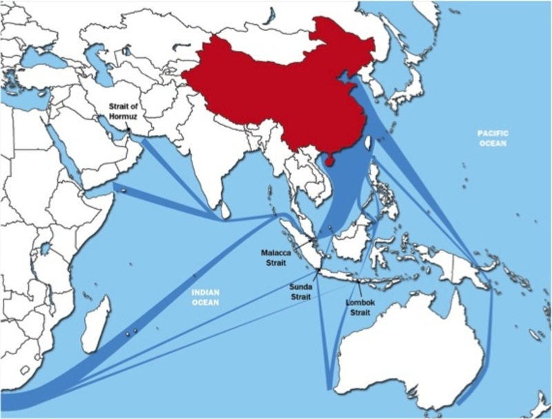 The US Pivot To Asia The China Spectre And The Australian - Map of us allies in the asia pacific