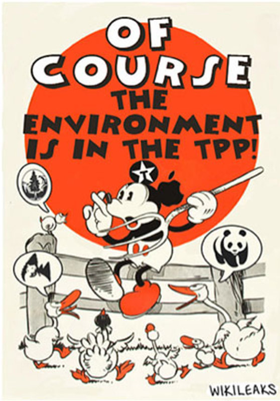 09650255 WikiLeaks and the Release of the Secret TPP Environment Report  ウイキリークス流出のTPP秘密環境報告