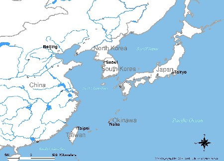 Map Of Asia Taiwan.The Ryukyus And Taiwan In The East Asian Seas A Longue Duree