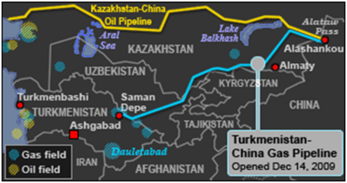 Картинки по запросу central asia and china map
