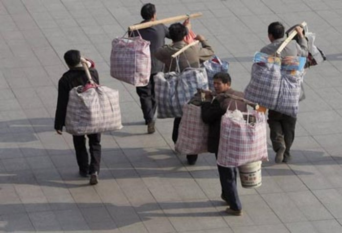 Migrant Workers Returning Home