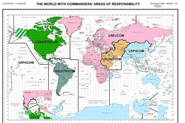 this area is critical for the us strategically and economically the command system that covers the whole earth and stretches even to outer e