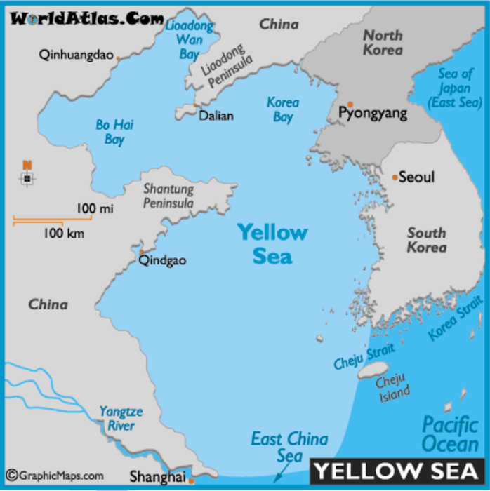 Map Of Asia Yellow Sea.The New Face Of U S China Relations Strategic Reassurance Or Old