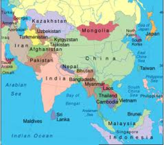 Map Of Asia Japan And China.India Japan Ties Poised For Advance As Both Nations Eye China The