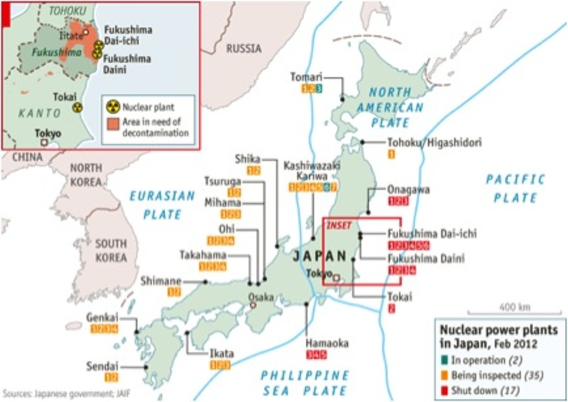 Mismanaging risk and the fukushima nuclear crisis the asia pacific status of nuclear power plants feb 2012 ccuart Images
