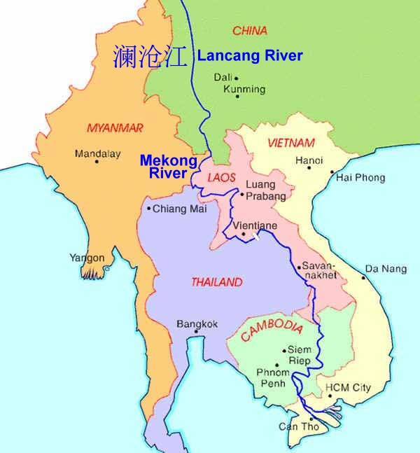 China Moves Oil Up The Mekong What Price The Environment The - Where is bangkok