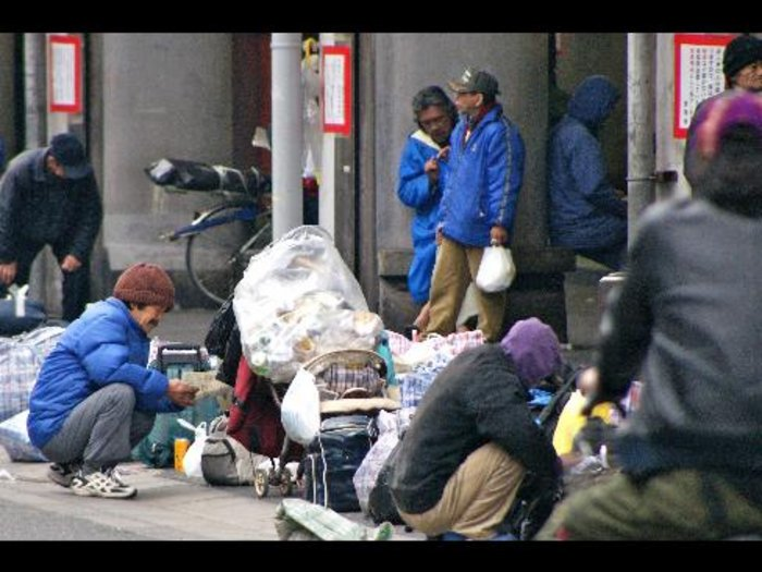 Toyota Of Stuart >> 'Lehman Shock' Fuels New Wave of Homeless in Osaka | The ...