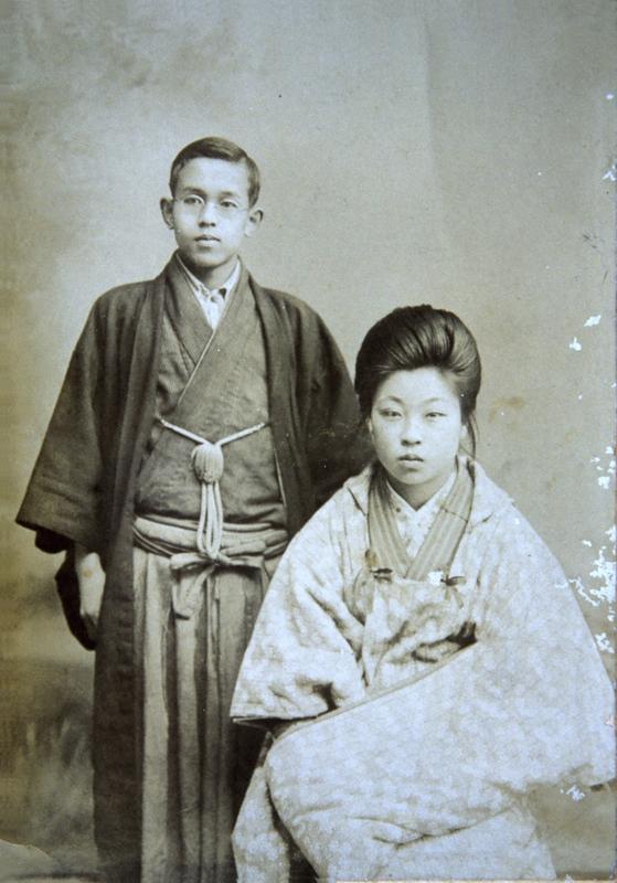 72b6fa2cf Ishikawa Takuboku and Horiai Setsuko after their engagement in 1904.  Courtesy of the Ishikawa Takuboku Memorial Museum.