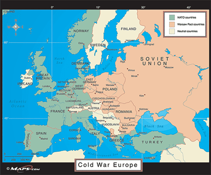 Cold War Map Of Asia.Japan Europe And The Dangerous Fantasy Of American Leadership The